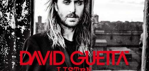 "The cover of ""Listen,"" by David Guetta."