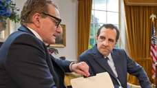 "Nixon and Kissinger in Harry Shearer's ""Nixon's The"