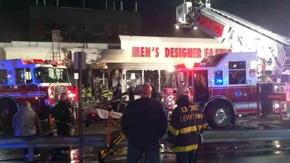 Levittown Clothing Store A Total Loss After Blaze Fire Chief Says Newsday