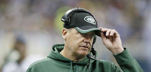 New York Jets head coach Rex Ryan is