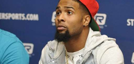 New York Giants rookie wide receiver Odell Beckham,