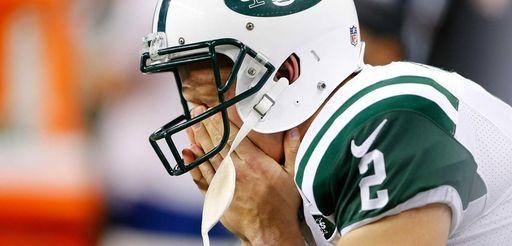 Nick Folk #2 of the New York Jets