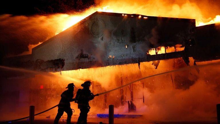 Ferguson Riots Fires