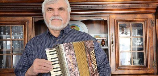 Paul Goetze, 65, of Floral Park, keeps several
