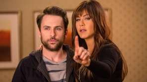 Charlie Day, as Dale Arbus, and Jennifer Aniston