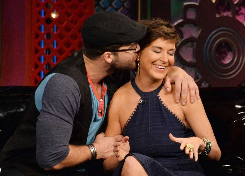 "Chris ""C.T."" Tamburello and Diem Brown met on"