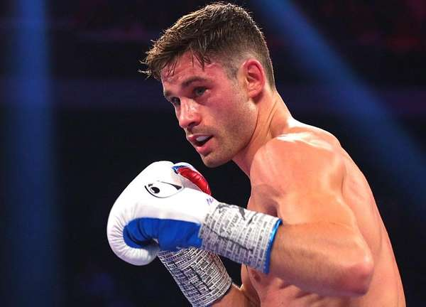 In less than one year, Greenlawn-raised Chris Algieri went from boxing at The Paramount in Huntington to facing Manny Pacquiao on HBO pay-per-view in Macau, China. This is the story of his ascent. (Newsday/Jeffrey Basinger)