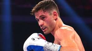 Chris Algieri in the ring.