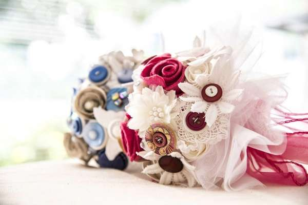 Who said wedding bouquets have to be made