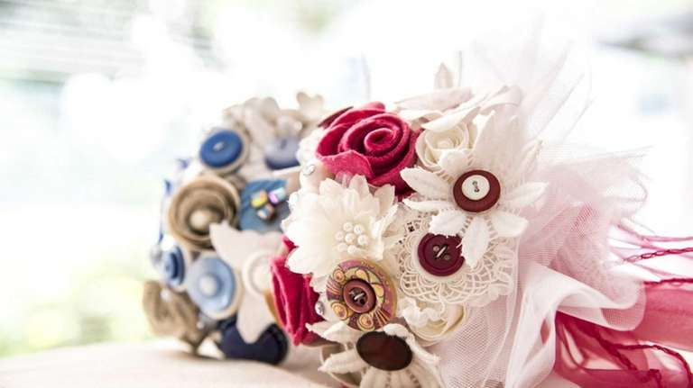 Idea Of The Month Non Floral Wedding Bouquets