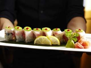 The well crafted fantasy roll, with spicy tuna,