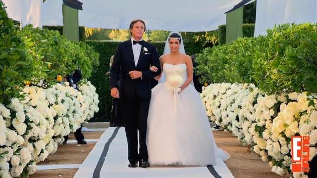 Kim Kardashian's 2011 wedding -- a televised extravaganza