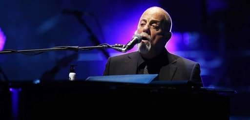 Billy Joel at Madison Square Garden in Manhattan