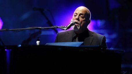 Billy Joel at Madison Square Garden in Manhattan