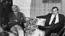 Ed Koch and Mario Cuomo before their last