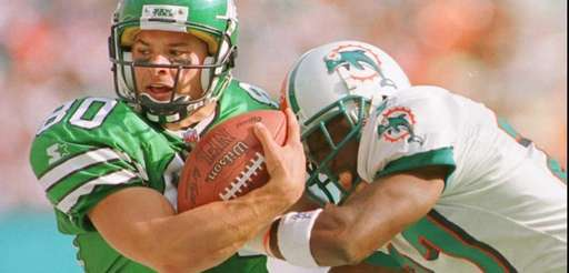 New York Jets wide receiver Wayne Chrebet is