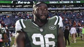 New York Jets defensive end Muhammad Wilkerson after