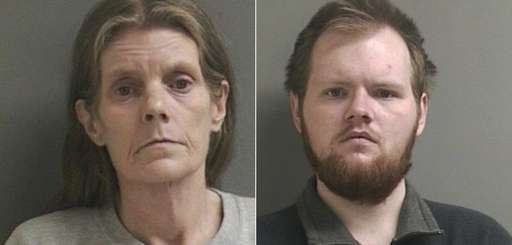 Detectives said Kelly Cavanagh, 53, and her son