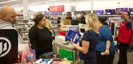 Customers who could start shopping at 6 a.m.