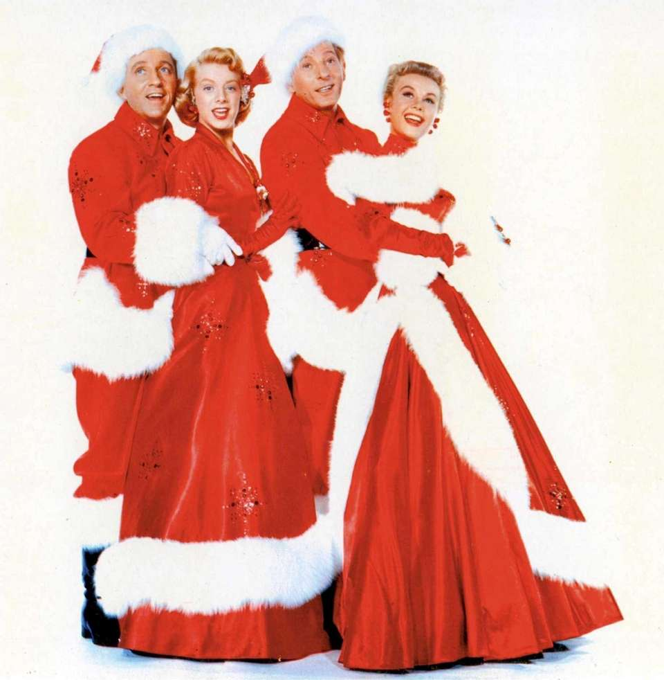 Bing Crosby, Rosemary Clooney, Danny Kaye and Vera-Ellen