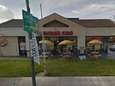 A Google maps view of the Burger King
