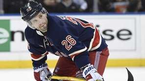 New York Rangers right wing Martin St. Louis