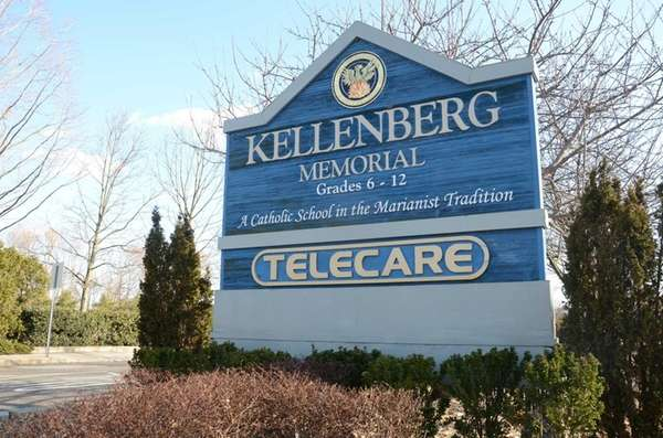 Kellenberg Memorial High School is shown on March