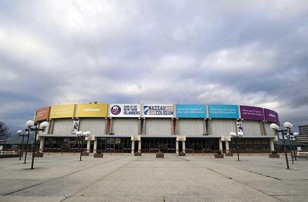 Nassau County Veterans Memorial Coliseum in Uniondale on