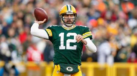 Quarterback Aaron Rodgers of the Green Bay Packers