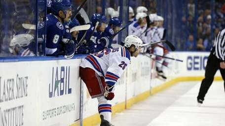 Martin St. Louis #26 of the New York