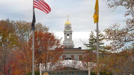 The Hempstead Town Hall is shown on Nov.