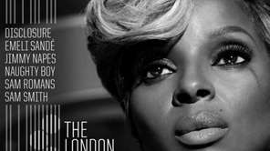 "Mary J. Blige's ""The London Sessions"" album."