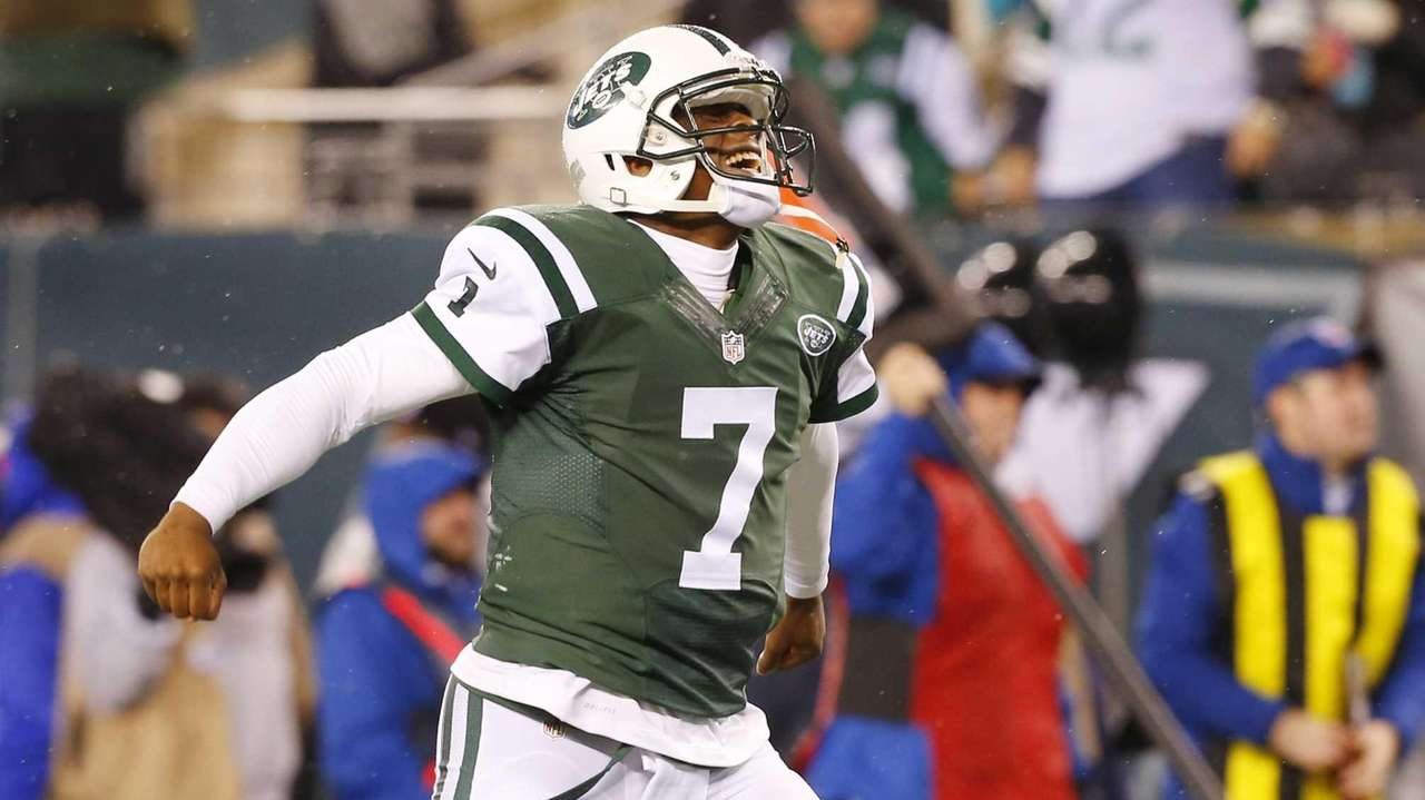 Geno Smith #7 of the New York Jets