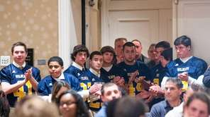 The Shoreham-Wading River football team wins the Rutgers