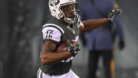 New York Jets wide receiver Percy Harvin during