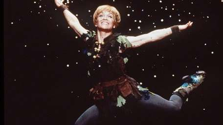 Olympic gymnast Cathy Rigby played Peter Pan in