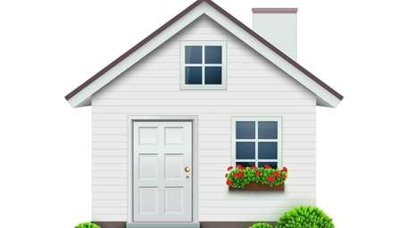Jointly owned property, such as a house, is