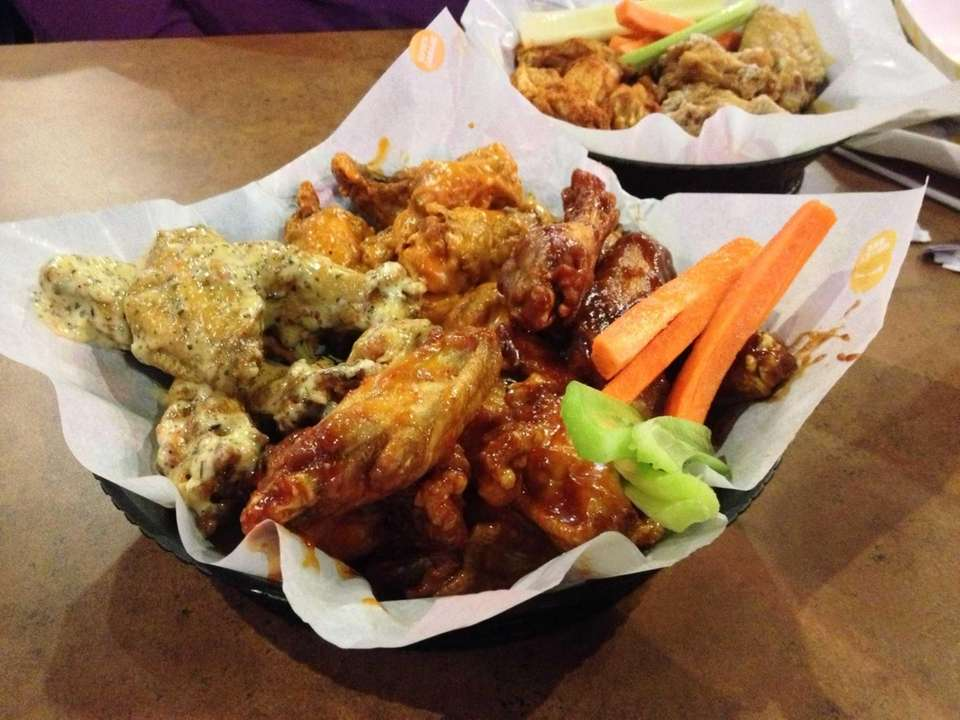 Buffalo Wild Wings (multiple locations): With both bone-in