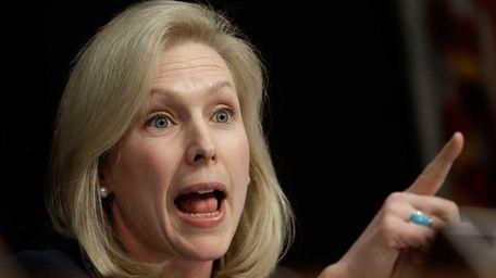 Sen. Kirsten Gillibrand and a group of bipartisan