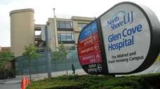 An exterior of Glen Cove Hospital on Aug.