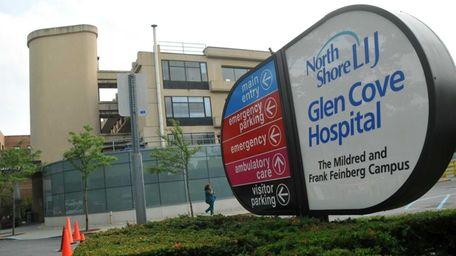 An exterior of Glen Cove Hospital on Aug.