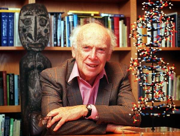 James Watson, 86, who shared the 1962 Nobel