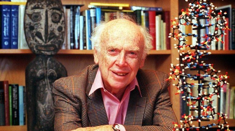 James Watson, 86, who shared the 1962 Nobel