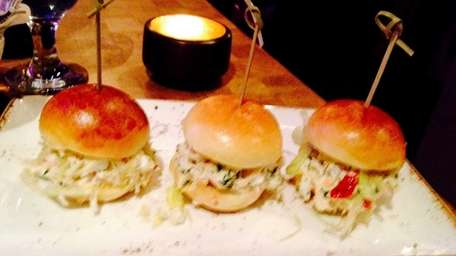 Lobster sliders are served at Imperial Meat Company