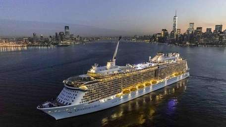 Royal Caribbean cruise line's new Quantum of the