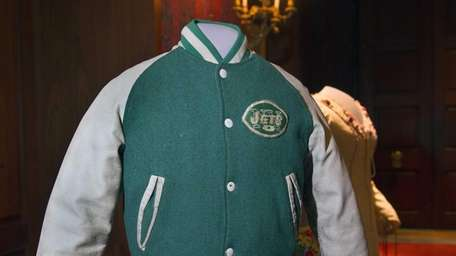 The iconic Jets jacket worn by actor Fred