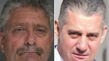 (L-R) Records showed that Dennis Barravecchio, 62, of