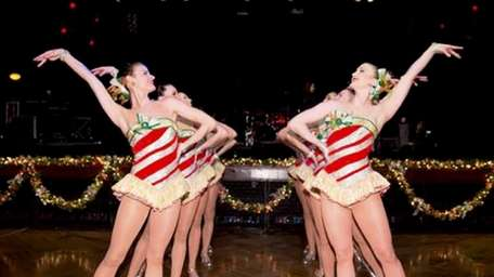 The Rockettes performed at the 14th annual Holiday