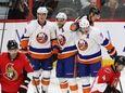 The New York Islanders' Brock Nelson (29), Frans