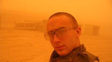 Former Army Sgt. Kristopher Goldsmith said depression led